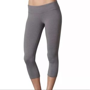 Prana Gray Ashley Capri Legging